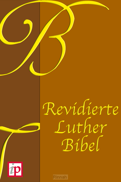 Revidierte Luther Bibel (