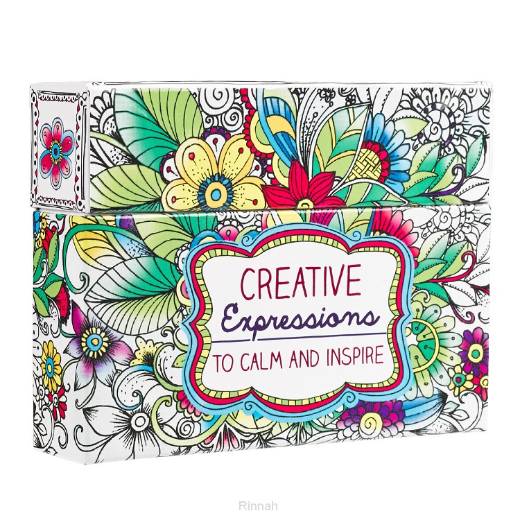 Creative Expressions Boxed Coloring Card