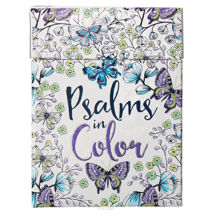 Psalms in Color - Boxed Coloring Cards
