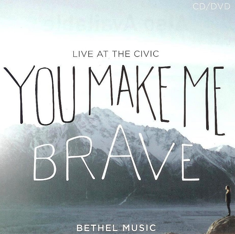 You make me brave cd/dvd