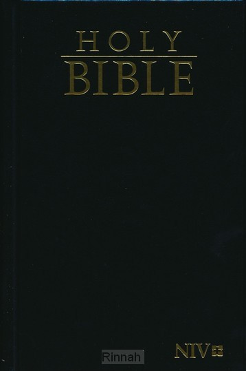 NIV compact bible black hardcover