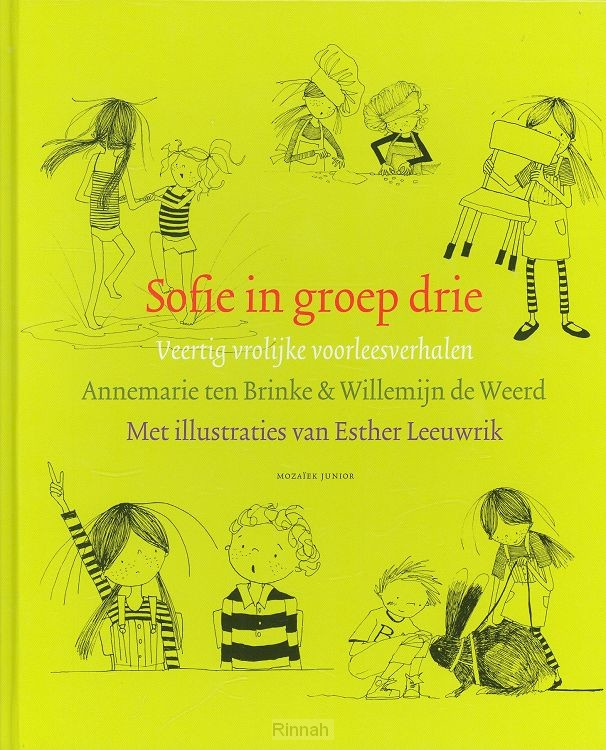 Sofie in groep drie