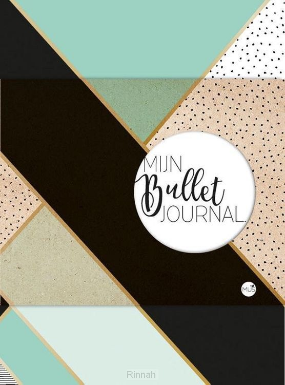 Mijn bullet journal - mint & goud